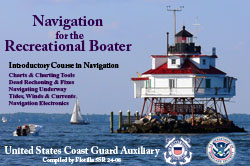Navigation for the Recreational Boater
